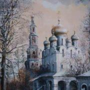 Starodubov Alexander. Moscow, Novodevichy Convent
