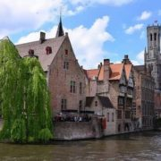 The historical center of Bruges