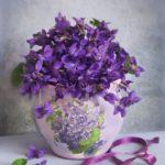 Violet – delicate flower