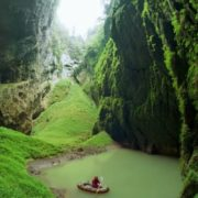 Cave-Abyss in the Karav Massif of the Moravian Karst