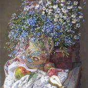 Eduard Panov. Summer Flowers