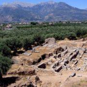 Excavations of Ancient Sparta