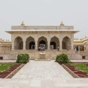 Khas Mahal - private apartment of Shah Jahan, built in 1636