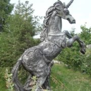 Monument to unicorn