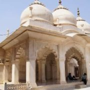 Nagina Masjit (Precious Mosque) - a small marble mosque built by Shah Jahan