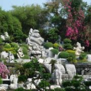 Park of millions of stones and crocodile farm