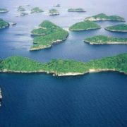 Philippine Islands are volcanic in origin