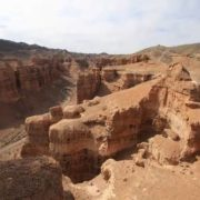 Sharyn Canyon in Kazakhstan