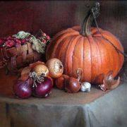 Stanislav Plonish. Still Life with a Pumpkin