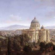The St Peter's In Rome, Caspar Andriaans van Wittel. 1372