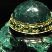 The largest emerald in the world is shown in Vienna (2860 carats)