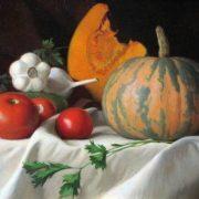 V. Fedotov. The October pumpkin