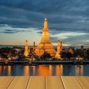 Wat Arun in Bangkok is the temple of Dawn
