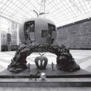 Apple of Knowledge in the art gallery of Zurab Tsereteli in Moscow