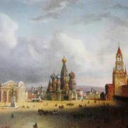 Attractive Moscow Kremlin