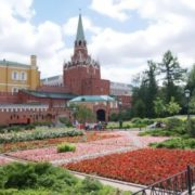 Beautiful Moscow Kremlin