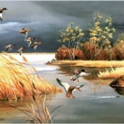 Mallards by Maynard Reece