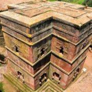 Monolithic churches in Lalibela