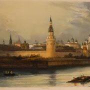 Pretty Moscow Kremlin
