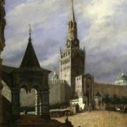 Stepan Mikhailovich Shukhvostov. View of the Red Square