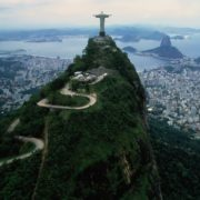 Amazing Christ the Redeemer in Brazil