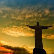 Attractive Christ the Redeemer in Brazil