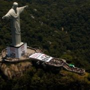 Beautiful Christ the Redeemer in Brazil