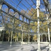 Crystal Palace in the Buen Retiro Park in Madrid, 1887