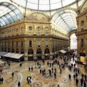 Galleria Vittorio Emanuele in Milan, 1867-78