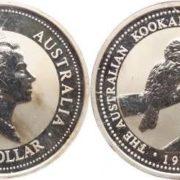 Image of kookaburra on the coin