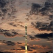 Lovely Ostankino TV Tower