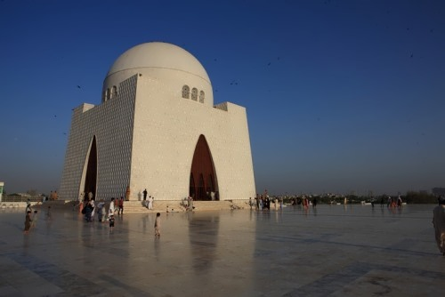 Mazar-e-Quaid is the tomb of the founder of Pakistan, Muhammad Ali Jinnah