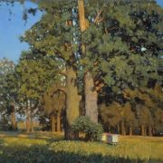 Nikolay Anokhin. Old oaks
