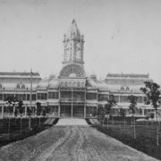 Palace of Industry in Toronto, 1858