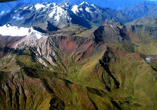 Peruvian Andes by Giovanni Paccaloni