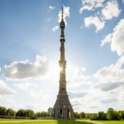 Picturesque Ostankino TV Tower