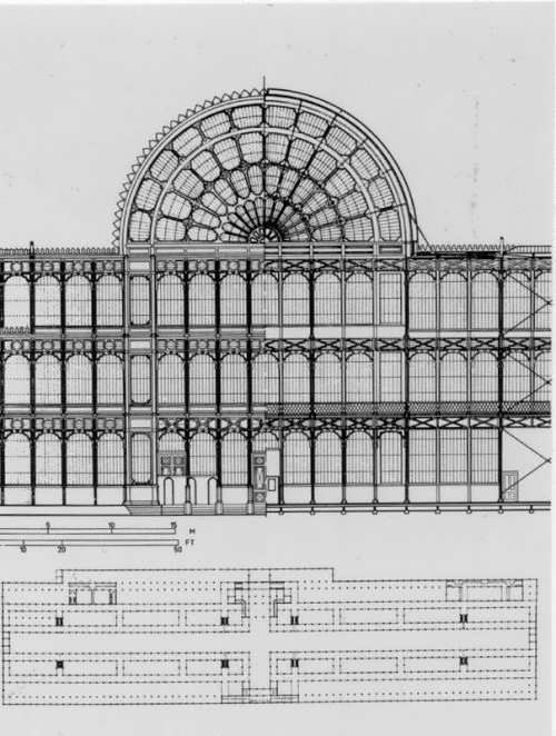 Plan of Crystal Palace