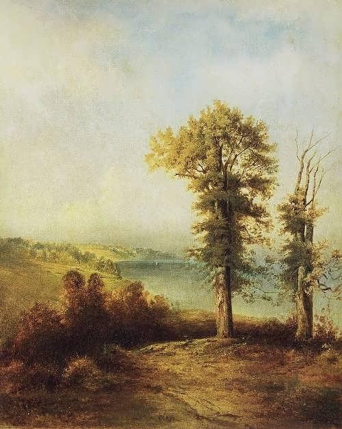 Savrasov. Young oaks
