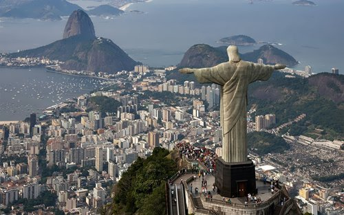 Statue of Christ the Redeemer in Brazil