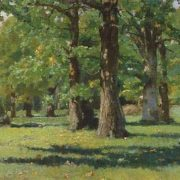 V. Vasnetsov - Oak grove in Abramtsevo, 1883