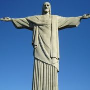 Wonderful Christ the Redeemer in Brazil