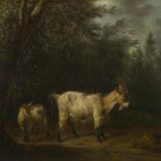 Adriaen van de Velde. A Goat and a Kid