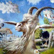 Akimov Vladimir. Dreams of a white goat