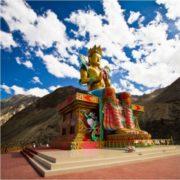 Buddha statue in Ladakh