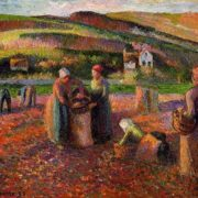 Camille Pissarro. Potato Harvest I. 1893