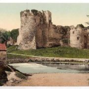 Castle, Chepstow, Wales