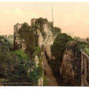 Castle, Marten's Tower, Chepstow, Wales