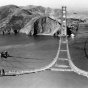Construction of Golden Gate Bridge