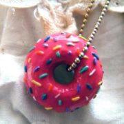 Doughnut pendant