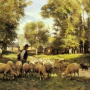 Dupre Julien - A Shepherd And His Flock